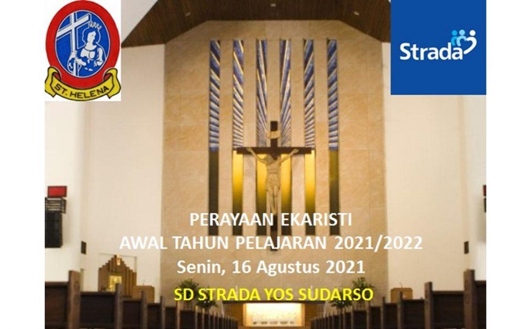 Perayaan Misa Awal Tahun Ajaran 2021-2022 dan Lomba HUT RI Ke-76